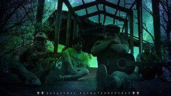 Desastres Extraterrestres prepara la presentación de su disco