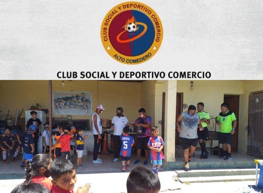 El club Comercio puso en marcha la temporada 2021