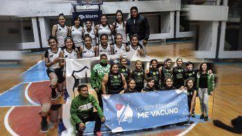Cuyaya y Villa Crespo, finalistas de básquet femenino