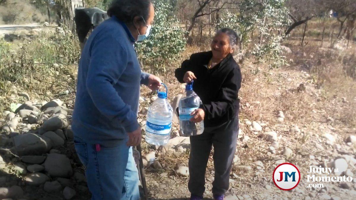 Los Blancos: Hartos de la falta de agua, vecinos cortarán la ruta