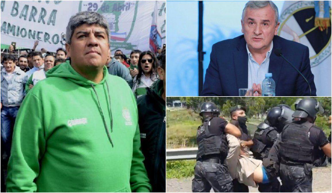 Pablo Moyano cargó contra Morales tras la detención de un dirigente de SEOM