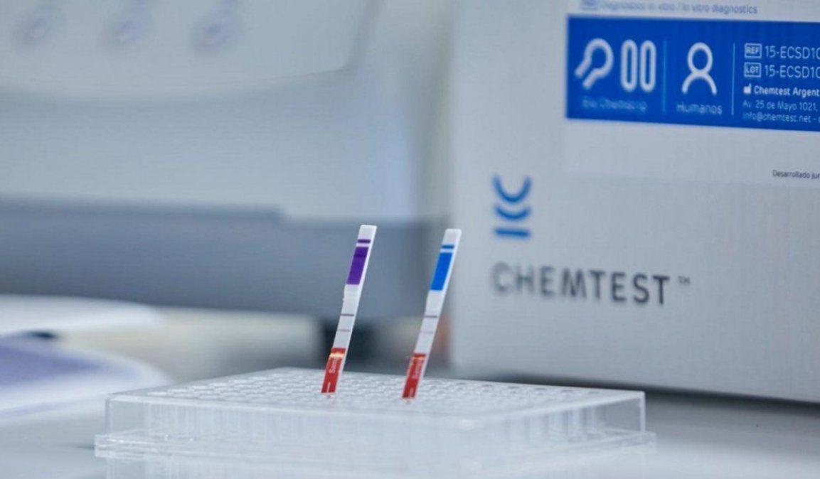 Aprobaron el primer test rápido para detectar coronavirus en casa