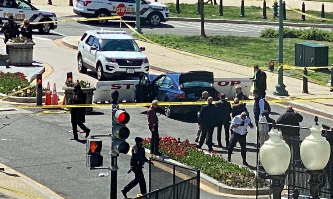 Un policía muerto y otro herido en un nuevo ataque al Capitolio