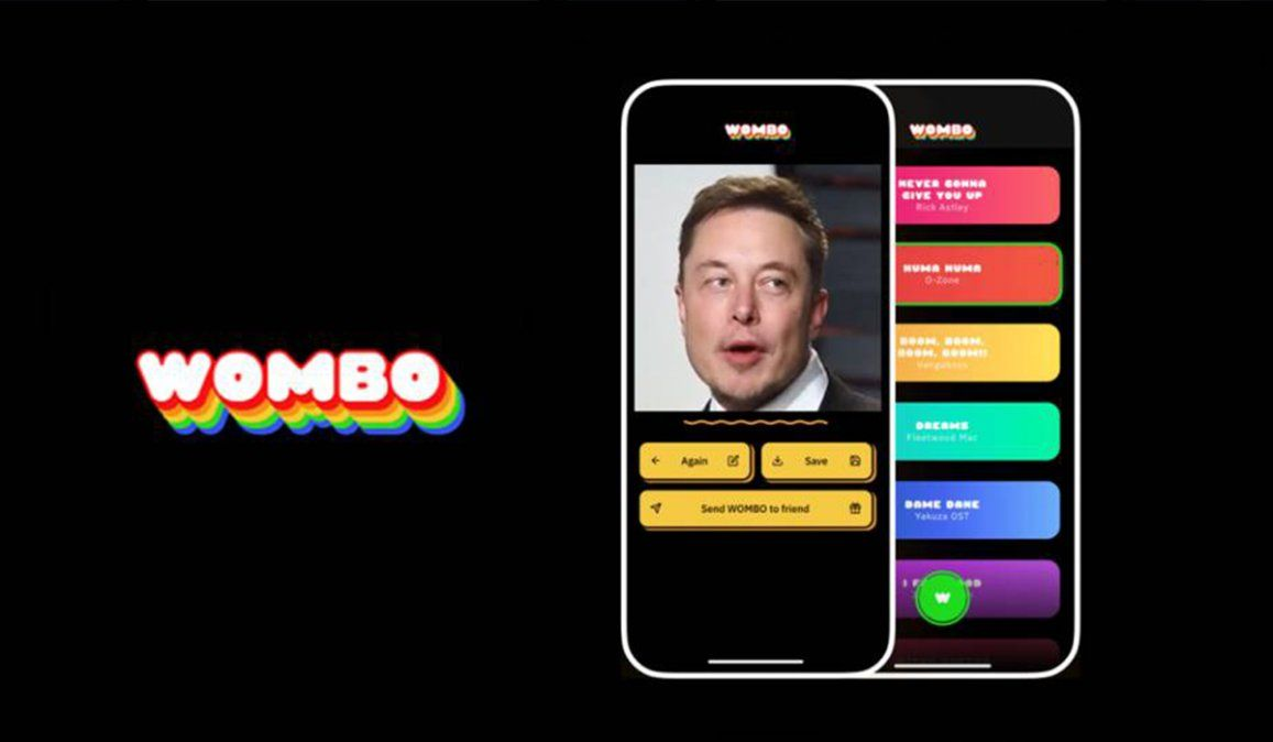 Wombo: una aplicación que hace que tus fotos canten