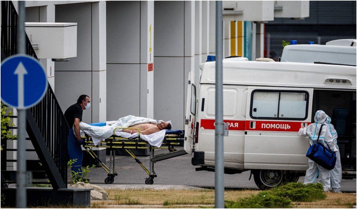 Rusia sigue elevando su récord de muertes diarias