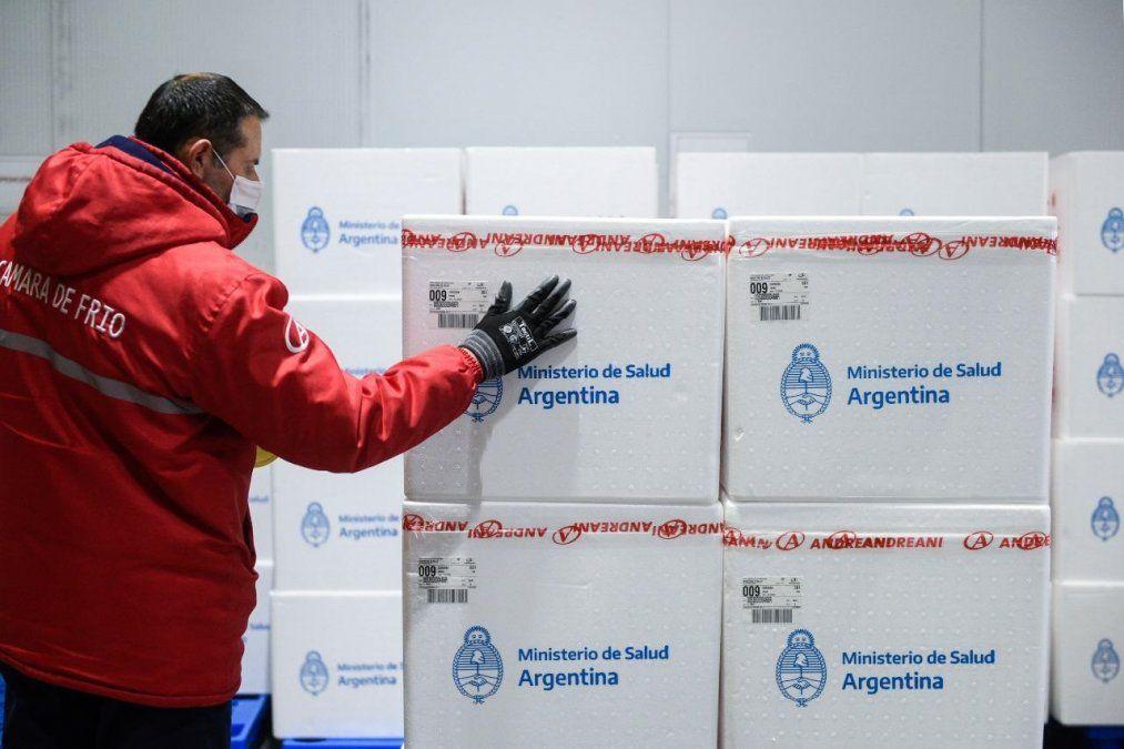 Envían a Jujuy 7.800 nuevas dosis de Sputnik V