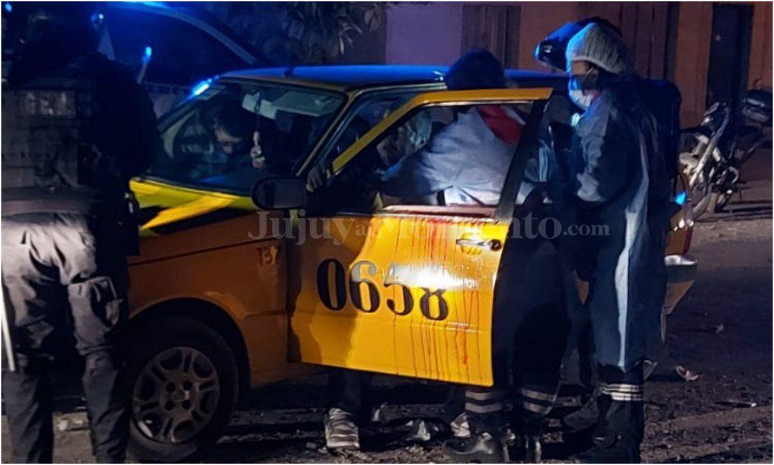 Violento ataque en Malvinas: Apuñalaron a un taxista en la cara