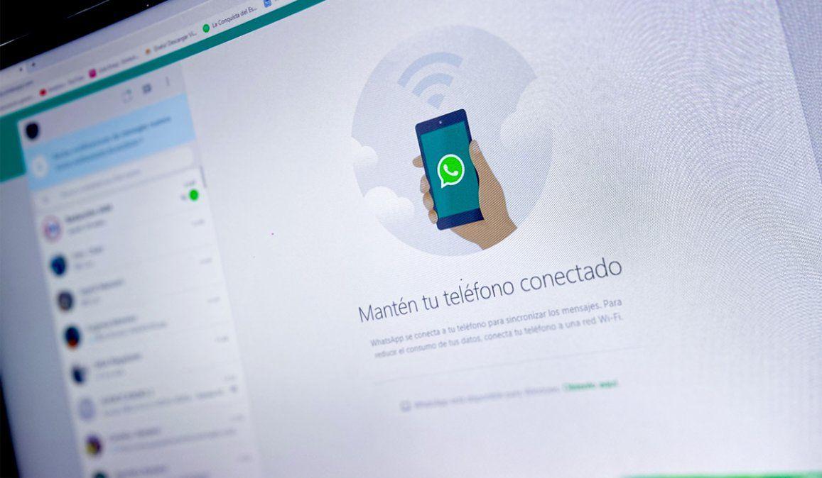 WhatsApp web permitirá mandar mensajes sin internet en el celular