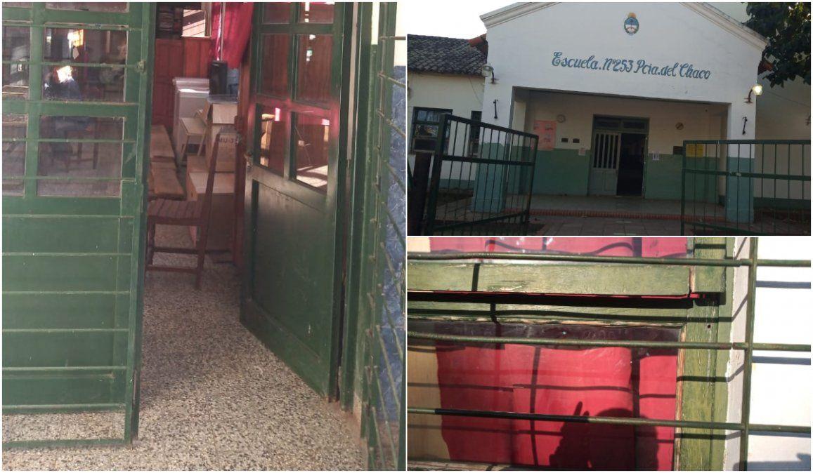 En plena cuarentena, robaron por cuarta vez una escuela de Yuto