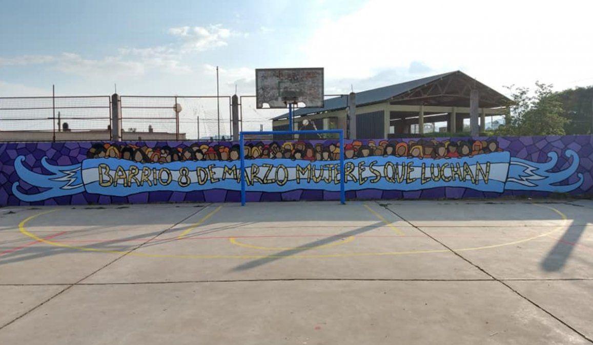 La agrupación política que copió el mural de Nicolás Anun, se comunicó con el artista