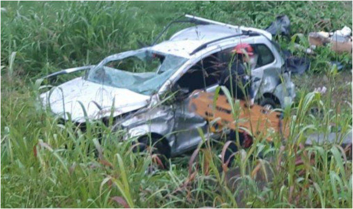 Tres muertos en un accidente fatal en Ruta 66
